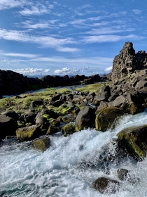 xarrfoss Thingvellir National Park Iceland   x