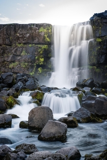 xarrfoss waterfall in ingvellir national park south Iceland  hedbergphotos