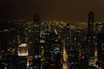 xpost from rpics  Chicago from the top of the John Hancock Building taken with my Nikon d