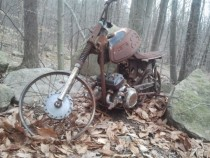 Yamaha motorcycle found while hiking in NJ