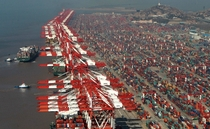 Yangshan Port Shanghai Free Trade Zone Busiest container port in the world