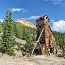 Yankee Girl Mine in Colorado