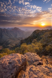 Yeah I did hike through the dark and up a mountain for this pic big deal Sunrise in Big Bend National Park