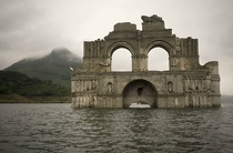 -Year-Old Colonial Church Emerges From Waters In Mexico    more in comments
