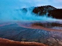 Yellow Stone Grand Prismatic Spring x OC
