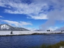 Yellowstone National Park on the Firehole River