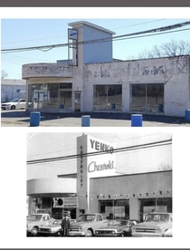 Yenko Chevrolet Dealership in Canonsburg Pennsylvania which closed in  Many very special customized Camaro Chevelles and Novas were sold here Photographers are unknown