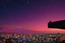 Yerevan Armenia dreaming sunsets like this