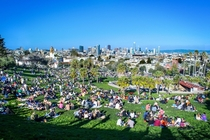 Yesterday afternoon in Dolores Park San Francisco