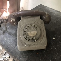 Yesterday I posted a photo of an old typewriter I found in an abandoned farmhouse I had lots of requests for more footage so have made a video If you want to check it out link is in the comments below This old dial phone was also inside