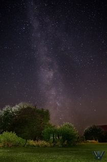 Yesterday I was waiting for the Sigma-Capricorniden and took my first shot of the Milky Way - Germany Lower Saxony
