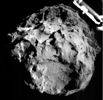 Yesterday the first soft landing on a comet took place some  million kilometers from planet Earth as the Rosetta mission lander Philae settled on the nucleus of CP Churyumov