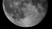 Yesterdays Moon in very high resolution