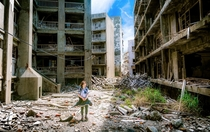 Yet more of Hashima Island AKA Gunkanjima Nagasaki Prefecture Japan  - Author Jordy Meow