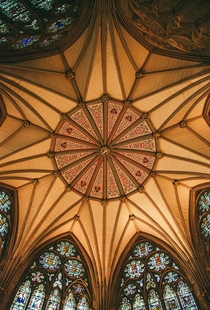 York Minster Ceiling York England