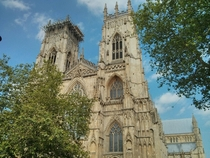 York Minster the largest Gothic Cathedral in Northern Europe York UK