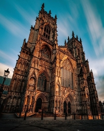 York Minster UK  x