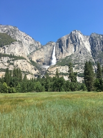 Yosemite Falls from Cook Meadows