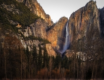 Yosemite Falls Yosemite National Park  Photo by Tucapel