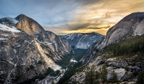 Yosemite Grandeur during Sunset