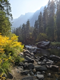 Yosemite in fall took this a few weeks ago and wanted to share the magic of Californias greatest park  x