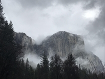 Yosemite is hauntingly beautiful in the winter