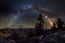 Yosemite National Park at am a few night ago