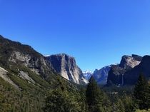 Yosemite National Park California  Beautiful view over Yosemite Valley where Theodore Roosevelt sat by a campfire with John Muir on May th  It is here down by the waterfall that Muir urged good ol Teddy to work for the preservation of Americas remaining w