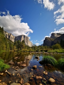 Yosemite National Park in late September