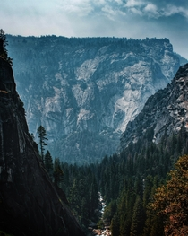 Yosemite never fails to make you feel small
