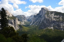 Yosemite Valley but this time from the ledge trail  x
