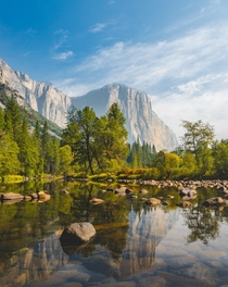 Yosemite Valley CA  Air quality is starting to improve after a Summer filled with fires