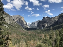 Yosemite Valley California USA  I took this on a recent trip and was totally in awe by the beauty