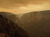 Yosemite Valley during Wildfires
