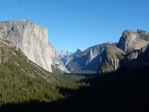 Yosemite Valley El Capitan amp Half Dome