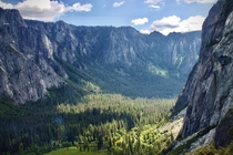 Yosemite Valley in a different direction