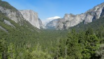 Yosemite Valley in the summer