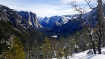 Yosemite Valley Inspiration point