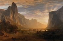 Yosemite Valley United States  painting by Albert Bierstadt