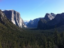 Yosemite Valley - View from the Bridge