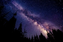Yosemites Night Sky