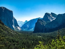 Yosemites Tunnel View