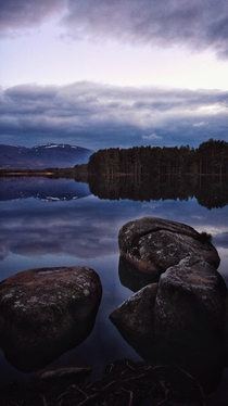 You asked for more so here you go Loch Garten Scotland Taken just after sunset again on my phone