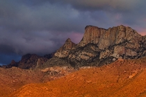 You guys loved the last shot I posted Heres another from the same evening Post storm sunset in southern Arizona