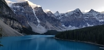 You guys might have seen it million times but here is my version of Moraine Lake