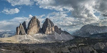 You have probably seen it a couple of times but Im going to try my luck Drei ZinnenTre Cime di Lavaredo - Dolomites Italian Alps