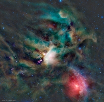 Young Stars in the Rho Ophiuchi Cloud Image Credit NASA JPL-Caltech WISE