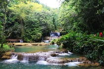 YS Falls Jamaica  Taken by me treeswithbenefits on Instagram