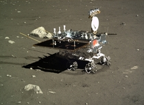 Yutu the Chinese lunar rover