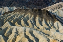 Zabrinskie Point --- Death Valley National Park --- composed of sandstone clays minerals and even lava formed over millions of years ago